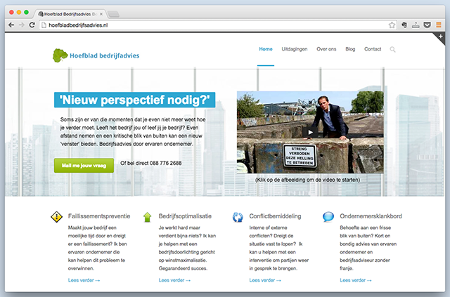 WordPress-website-Hoefbladadviseurs