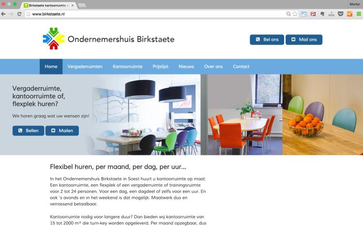 WordPress website Birkstaete