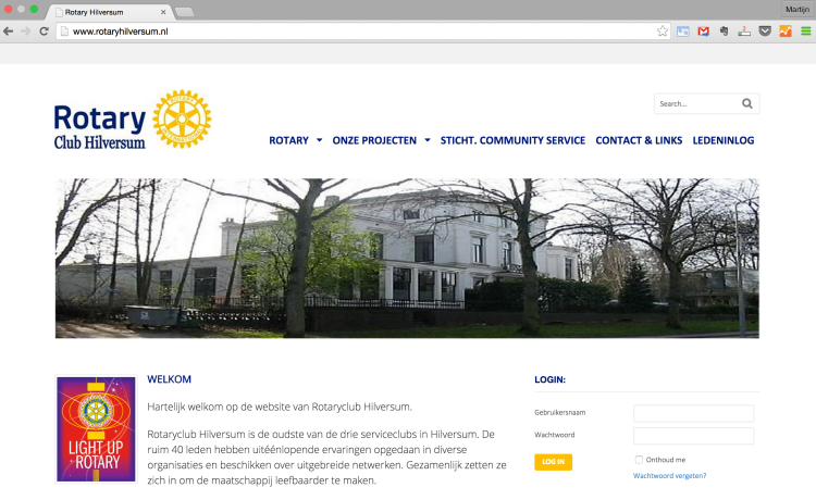 wordpress-website-rotatry-hilversum