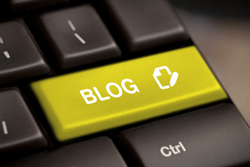 blog, typen, toestenbord