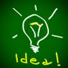 idee, lamp, ingeving