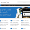 WordPress template GeneratePress