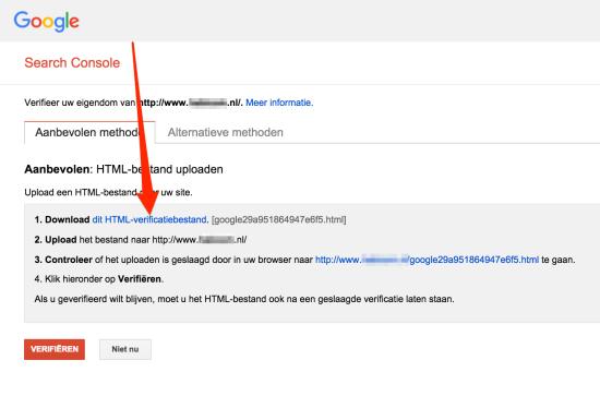 Website-aanmelden-bij-Google-verificatie-via-FTP