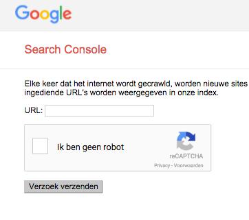 Website-aanmelden-bij-Google-verzoek-verzenden