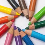 kleurpotloden cirkel