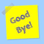 De MailChimp uitschrijfbevestiging (vervangen door je eigen versie)